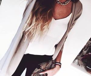 fashion, hair, and ombre image