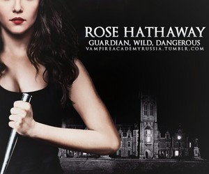 vampire academy, rose hathaway, and роза хезевей image