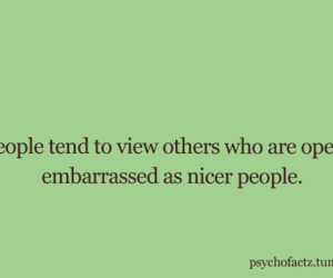 embarrassment, psychology, and nice image