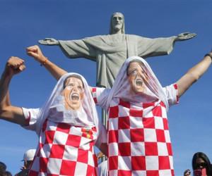 brazil, vatreni, and Croatia image