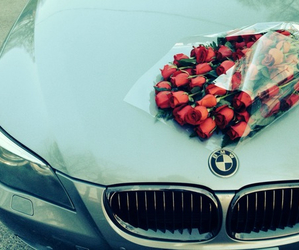bmw, car, and love image