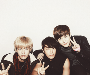 donghae, kris, and suho image