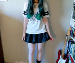 kawaii, pastel goth, and irodohieru image