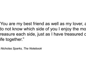 quote, the notebook, and nicholas sparks image