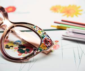 art and glasses image