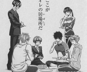 manga, psycho pass, and akane tsunemori image