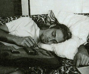 beautful, grunge, and sleeping image