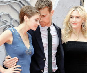 couple, divergent, and event image