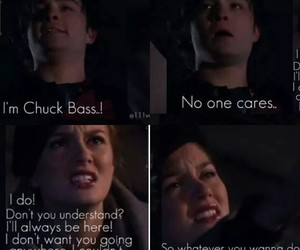 blair waldrof, chuck bass, and crying image