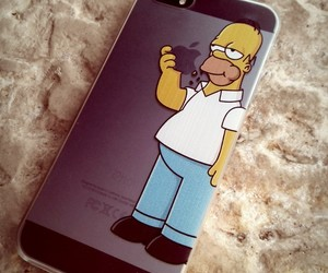 cover, funny, and homer image