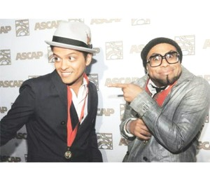 bruno mars and philip lawrence image