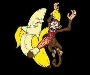 banana, HAHAHA, and laugh image