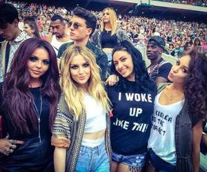 little mix, danielle peazer, and perrie edwards image