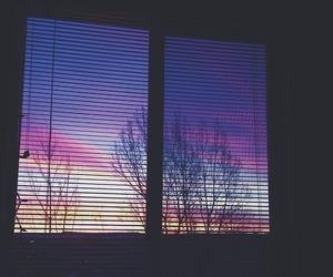 window, sky, and tumblr image