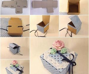 diy, box, and gift image