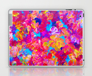 abstract art, fine art, and floral pattern image