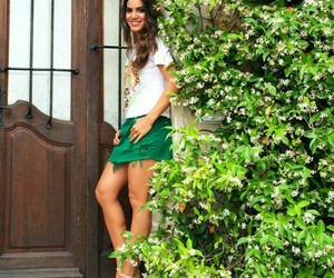beauty, clothes, and green image