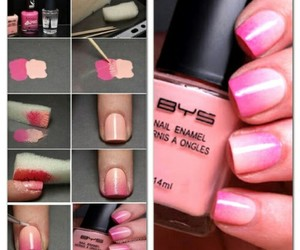 chic, nails, and peach image