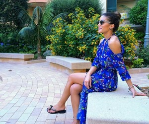 blue, fashion, and French Riviera image