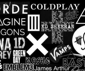 bastille, coldplay, and demi lovato image