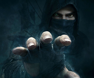 thief, game, and man image