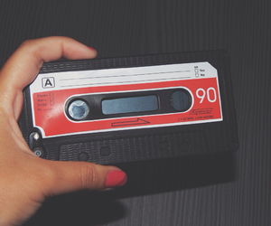 book, cassette tape, and fita cassete image