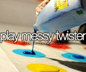 twister, fun, and messy image