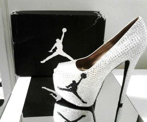 jordan, heels, and shoes image