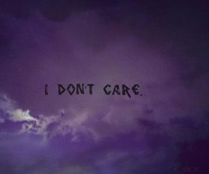 quote, words, and i dont care image
