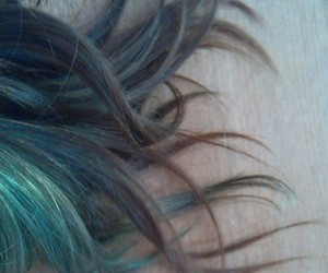 blue, brown, and dye image