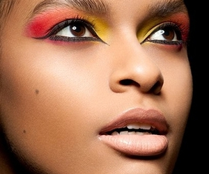 eye liner, face, and fashion image