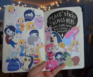 tumblr and adventure time image