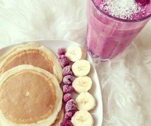 bananas, eat, and food image