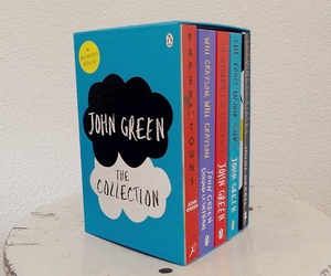 book, john green, and collection image