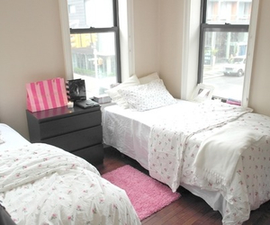 bedroom, ikea, and pink image