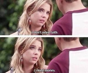 money, faith, and pll image