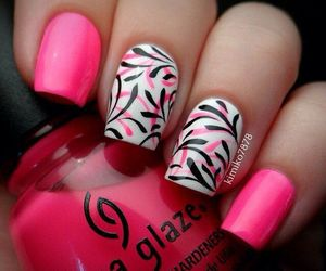 color, girlish, and nails image