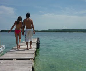 beach, love, and couples image