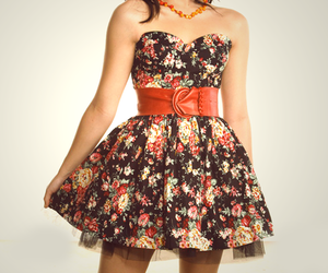 clothes, floral, and demi lovato image