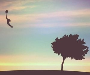 Dream, tree, and fly image