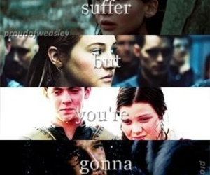 harry potter, the chronicles of narnia, and hunger games image