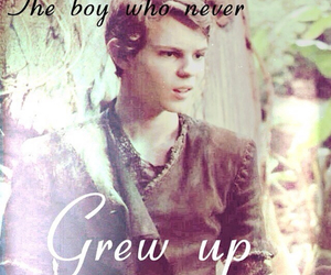 peter pan, lost boy, and ouat image