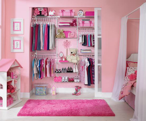 pink, girl, and clothes image
