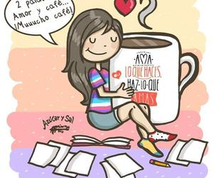 amor, cafe, and azucar y sal image