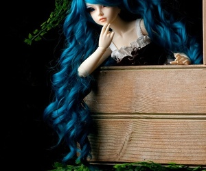 ball jointed doll, beautiful, and doll image