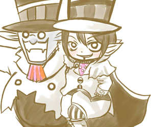 d.gray-man, mephisto, and crossover image
