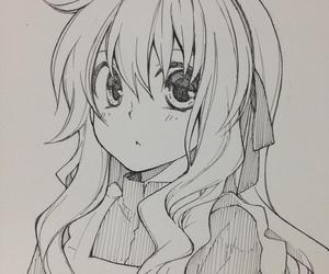 b&w, manga, and kagerou days image