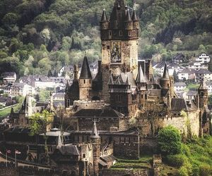 castle, germany, and cochem image