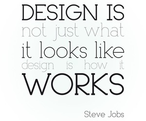 design, typography, and quote image