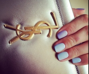 YSL, fashion, and nails image